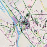 Carte des aménagements cyclables à Châlons