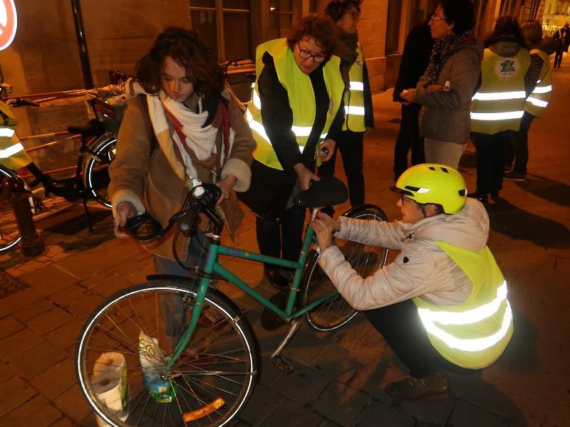 cyclistes brillez